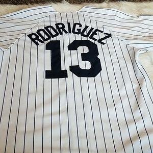 🎃Majestic  Genuine MLB  Jersey   N.Y. Yankees